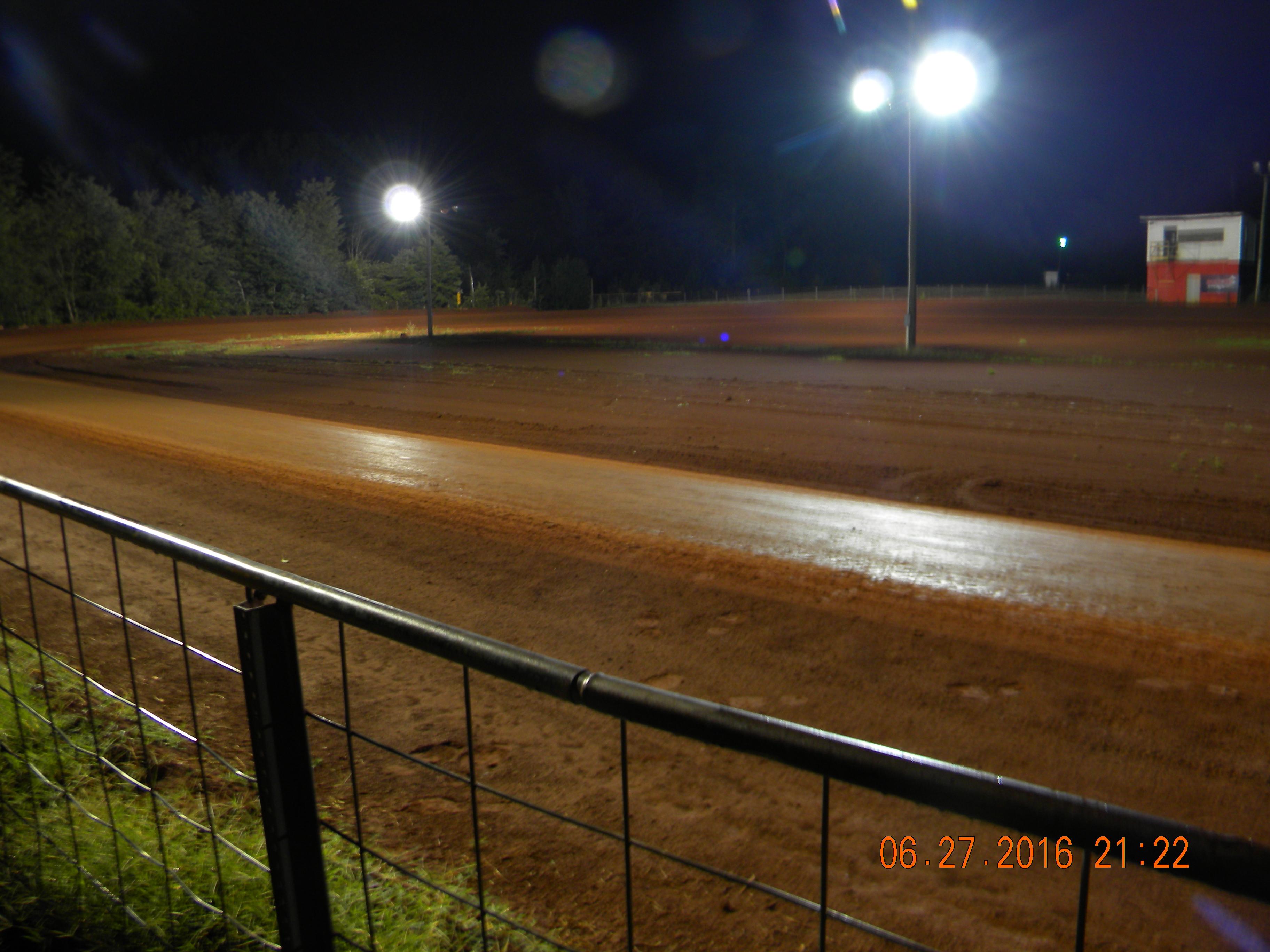 Beaver Creek Speedway back stretch